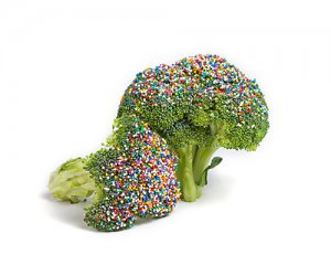 broccoli with sprinkles! ;)