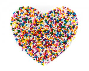 Sprinkle Heart