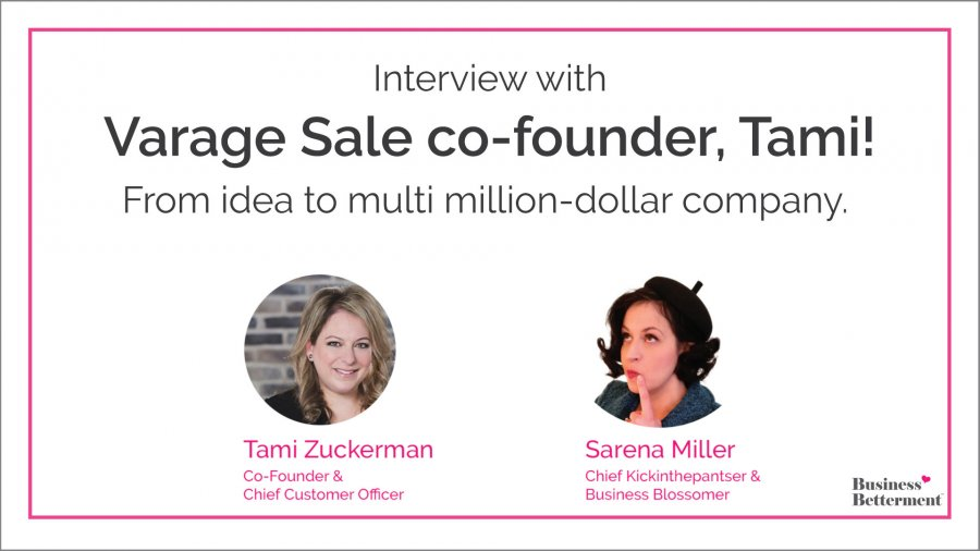 From idea to multi-million dollar business, interview with Tami Zuckerman Mercier